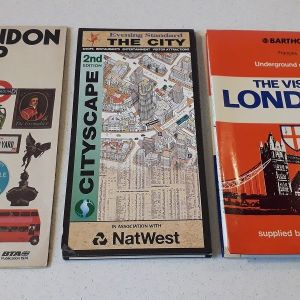Χάρτες Λονδίνου ( 3 )