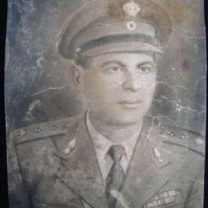 Πορτραίτο -  φωτογραφία Αξιωματικού του Βασιλικού Ελλην.Στρατού.
