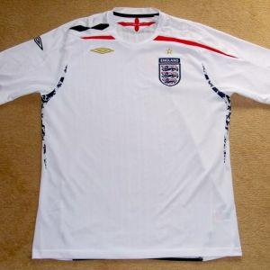 Φανέλα Εμφάνιση Εθνικής Αγγλίας Umbro μέγεθος Large Συλλεκτική