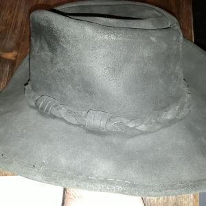 Minnetonka,The Outback Hat,Genuine Leather.