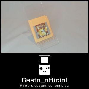 Pokemon Yellow Version Game Boy Cartridge Gesto_official