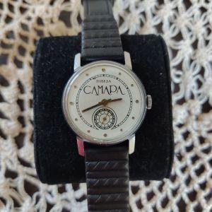 ΠΟΒΕΔΑ SAMARA. Ροσικο κουρδιστό ρολόι.