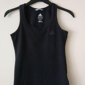 adidas size small  μακό μαύρο χρώμα μεταχειρισμένο
