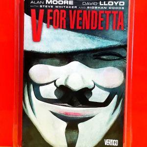 V FOR VENDETTA (Κόμικ)