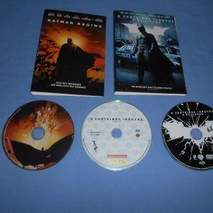 BATMAN ΤΡΙΛΟΓΙΑ - DVD
