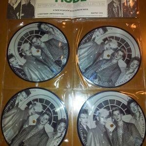 ΣΥΛΛΕΚΤΙΚΟ DEPECHE MODE PICTURE DISC (4 ΔΙΣΚΑΚΙΑ)