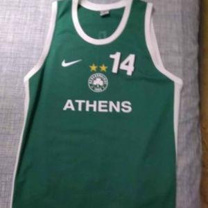 εμφάνιση Παναθηναϊκός μπάσκετ,xl Nike Dino Radja
