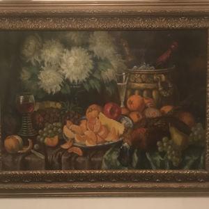 Παλαιός πίνακας ζωγραφική