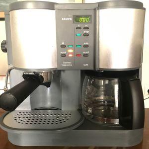 KRUPS Cafepresso Crematic Time F888 Πολυκαφετιέρα 1,4 L