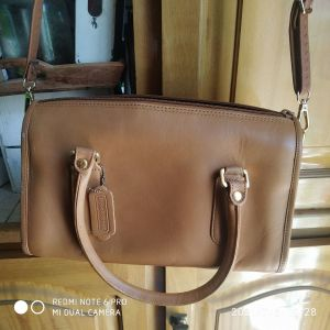 Τσάντα δερμάτινη ωμου