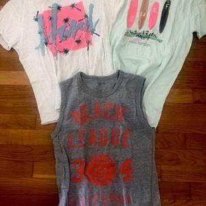 3 μπλουζες για 8-10 ετών