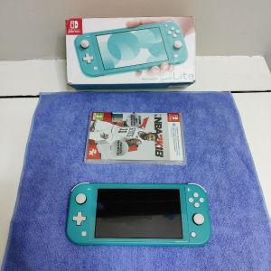 Nintendo Switch Lite Blue Αριστη κατασταση + 2k18 Sealed