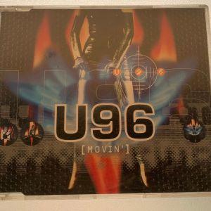 U96 - Movin' made in Germany 4-trk cd single