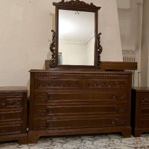 ΠΡΟΛΑΒΕΤΕ ΜΟΝΑΔΙΚΗ ΕΥΚΑΙΡΊΑ!!!Κρεβατοκάμαρα με συρταριέρα καθρέφτη, κομοδίνα
