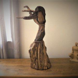 Εργο τεχνης Γλυπτό απο θαλασσόξυλα