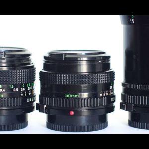 Canon FD φακοί