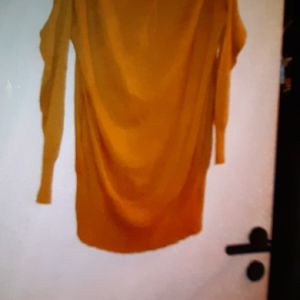 μπλουζοφορεμα L/XL μαλλινο πλεκτο