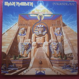 IRON MAIDEN (βινυλιο/δισκος heavy metal)