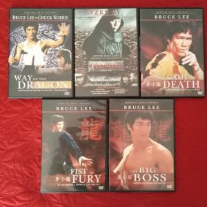 Διάφορες Ασιατικές ταινίες DVD
