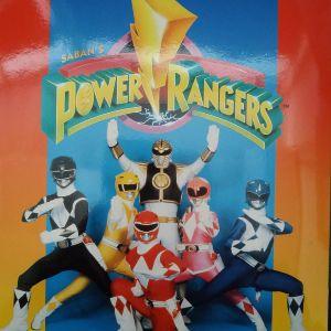 POWER RANGERS album panini 1996 μαζί με όλα τα αυτοκόλλητα,δεν έχουν κολληθεί.