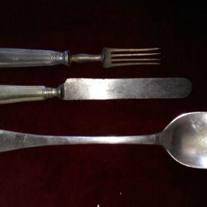 Σετ κουτάλα, μαχαίρι, πιρούνι