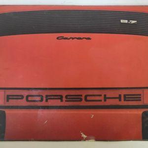 Διαφημιστικό Φυλλάδιο Porsche