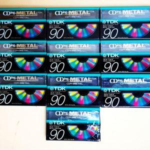 Κασέτες ήχου καινούργιες, Metal type TDK CDing C90