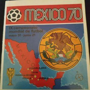 PANINI MEXICO 1970 ΜΟΥΝΤΙΑΛ official χωρίς αυτοκόλλητα