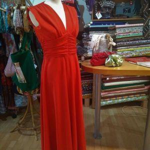 Vintage φόρεμα μάξι 70s