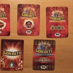 Gormiti κάρτες