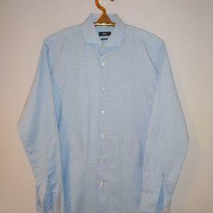 Hugo Boss πουκάμισο γαλάζιο με μικροσχέδια