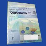 Αγγελιες πωλειται Microsoft Windows 98 First Edition Α Εκδοση X03-66598 λογισμικο software 98 CD & manual καινουργιο σφραγισμενη συσκευασια