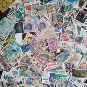 Γραμματοσημα από διάφορα ξένα κράτη