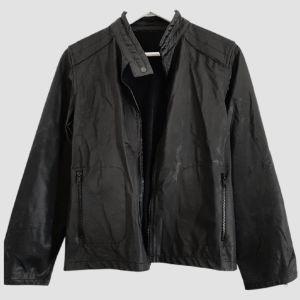 Jacket αδιάβροχο ελαφρύ μαύρο M!
