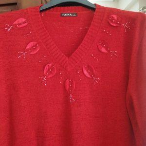 XL Καινούργια Μπλούζα Κόκκινη