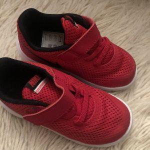 Κόκκινα sneakers αθλητικά παιδικά παπούτσια / Red sneakers Nike