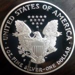 American Silver Eagle PROOF Κουτι