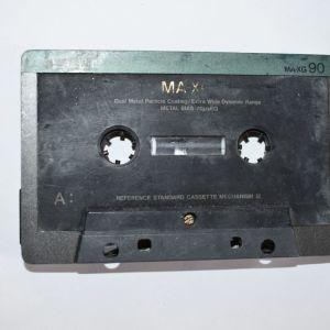 TDK DUAL METALL MA-XG 90 MIN.AUDIO CASSETTE BIAS METAL