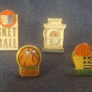 PINS Καρφίτσες με μπασκετικό ενδιαφέρον