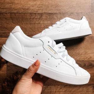 Γυναικεία-Ανδρικά Sneakers Adidas (Λευκά)