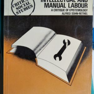 INTELLECTUAL AND MANUAL LABOUR