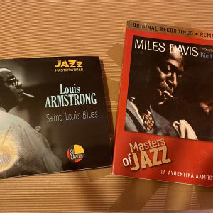 CD Jazz Louis Armstrong & Miles Davis
