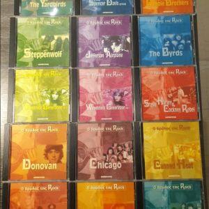 Πωλούνται 15 cd rock αχρησιμοποίητα σε άριστη κατάσταση