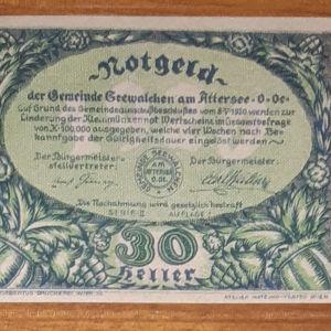 UNC 30 Heller Seewalchen 1920 (Notgeld)