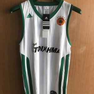 ΕΜΦΑΝΙΣΗ ΜΠΑΣΚΕΤ ΠΑΝΑΘΗΝΑΪΚΟΣ 2011-2012 Adidas Away Kit