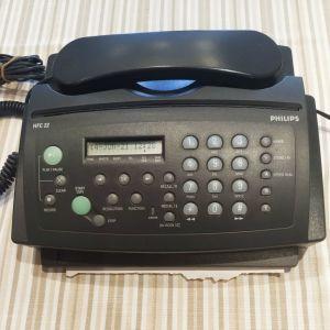 Τηλέφωνο Fax Philips