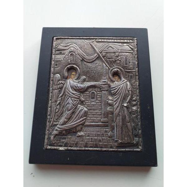 asimenia korniza evangelismos tis theotokou 950 asimi 25 efro