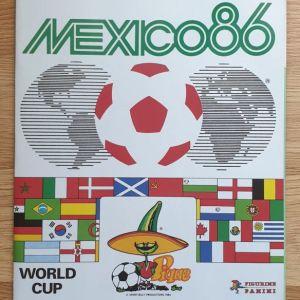 PANINI ΑΛΜΠΟΥΜ ΠΟΔΟΣΦΑΙΡΟΥ ''MUNDIAL MEXICO 86''
