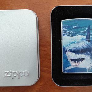 Αναπτήρας Zippo Shark του καλλιτέχνη Guy Harvey (No 6 MADE IN USA) - ΣΥΛΛΕΚΤΙΚΟ