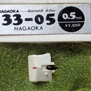 Βελόνα πικάπ Nagaoka, type 33-05, καινούργια, 2 τεμάχια